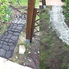 garden paving stones plastic garden stones making decorative concrete molds for garden stepping stones pavement mould