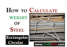 How Weight Of Steel Calculation Bars Sheets Plates Done