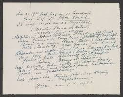 letters manuscripts artifacts from sigmund freud get  20 000 letters manuscripts artifacts from sigmund freud get digitized and made available online
