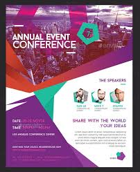 Flyer Conference Template 6 Event Flyers Designs Templates Free