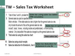 State Sales Tax Deduction Chart Itemized Deductions Nj Property Tax Deduction Credit Pub