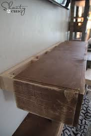 fireplace mantle see more building floating shelves shanty 2 chic com