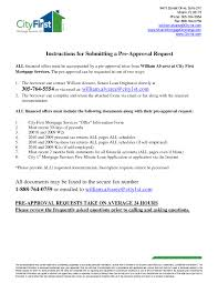 Sample Pre Approval Letter 8 Free Documents In Word Brilliant