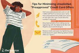 If you're a novice credit card user, focus on building a credit history with one or two. How To Stop Receiving Credit Card Offers In The Mail