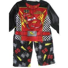 Lighting Mcqueen Pajamas Cars Baby Boys Red Black Lighting Mcqueen Cartoon