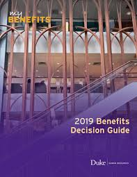 2019 Duke Benefits Decision Guide By Working Duke Issuu