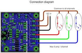 rgb led driver circuit diagram rgb image wiring power mosfet rgb led pwm on rgb led driver circuit diagram