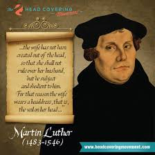 Martin Luther Quotes Inspiration Martin Luther Quote Image 48 The Head Covering Movement