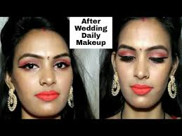 indian bridal makeup tutorial in hindi after the wedding daily makeup makeup video tutorials