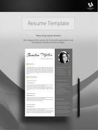 Modern Resume Template Resume Template Cv Template Professional