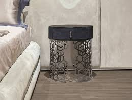 round bedside table with drawers lucy by longhi