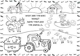 Kids Coloring Pages Animals Free Kids Coloring Pages Animal Coloring