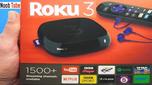 Unboxing £49 Roku 3 Streaming Player Watch Free Internet Youtube TV Shows  Netflix Films Set Top Box - YouTube