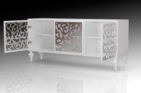 modern white  cabinet buffet