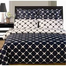 bloomingdale reversible navy blue white duvet cover sheets queen pertaining to and plan 13