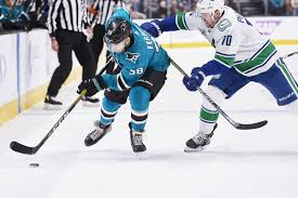Vancouver Canucks Depth Chart Quick Bites San Jose Sharks Drop Fifth Game To Vancouver