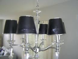chandeliers black lamp shade chandelier black shade lighting black shade chandelier full image for