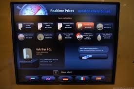 Gold Vending Machine Prices Gorgeous Offbeat Images There's Gold In Them Thar Dubai ATMs Man On The