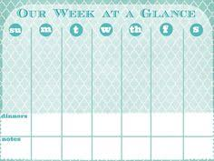 week at a glance calendar printable week at a glance calendar printable calendar weekly