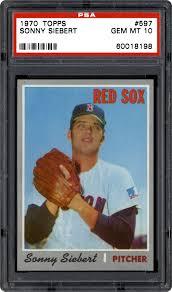 Baseball 1970 Topps #597 Sonny Siebert Boston Red Sox Baseball Card Sammeln  & Seltenes