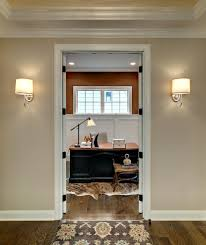 sligh furniture home office traditional with black desk with wood top crown molding grasscloth wallpaper hide blue home office dark wood