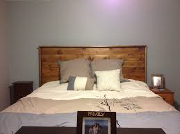 Homemade headboard for King size bed!