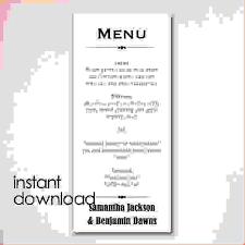 free word menu template ms word menu template under fontanacountryinn com