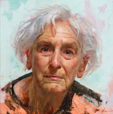 watercolor portraits contemporary realistic oil paintings by jeffrey hein fine art