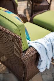 green resin wicker outdoor furniture. sawyer 6 piece resin wicker patio furniture conversation set (cilantro green ) outdoor n