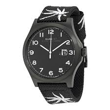 marc by marc jacobs jimmy black dial black nylon men s watch marc by marc jacobs jimmy black dial black nylon men s watch mbm5088