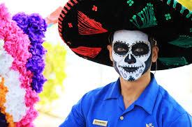 Dia De Los Muertos And Halloween Venn Diagram Halloween Vs Mexico Day Of The Dead Villa Del Palmar