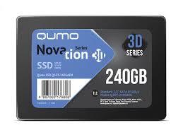 <b>Твердотельный накопитель Qumo</b> Novation TLC 3D 240Gb ...