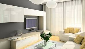 white tv wall mount ideas with base cabinet