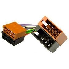 seat arosa 97 04 iso adaptor lead wiring car radio harness image is loading seat arosa 97 04 iso adaptor lead wiring