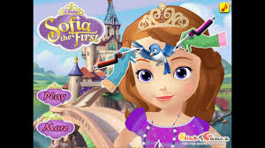 sofia the first tattoo face art game princess game for s