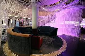 c the chandelier bar at cosmopolitan in review hotel portland adorable
