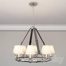 ralph lauren westbury chandelier in polished nickel