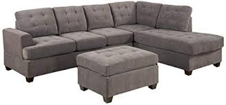 sectional sofa with chaise. Contemporary Sectional 3pc Modern Reversible Grey Charcoal Sectional Sofa Couch With Chaise And  Ottoman Inside With A