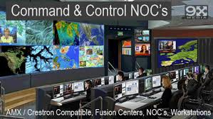 Small Picture Network Operations CenterCommand and Control NOCsVideo Walls