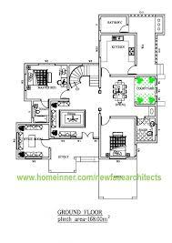2500 sq ft kerala home floor plan 3d design
