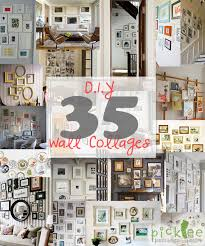 33 capricious wall photo collage diy art collages endless inspiration picklee photos unique frames eclectic object on wall art collage template with dazzling design wall photo collage home design