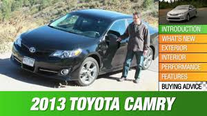 2013 Toyota Camry Review - YouTube