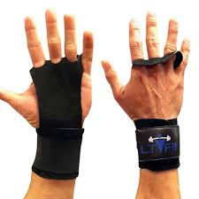 details about crossfit gloves hand grip wrist wraps leather palm protector wod gym men women