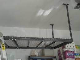 garage storage installation