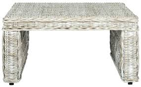 indoor wicker coffee table coffee tables furniture by white wicker table glass top white wicker coffee