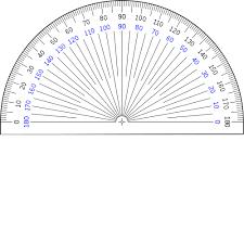 printable protractor. 360 degree protractor printable - invitation templates designsearch results for \u201c360 printable\u201d