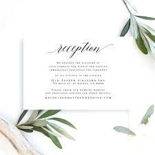 Wedding Reception Templates Free Wedding Reception Cards Templates Grainsdor Com