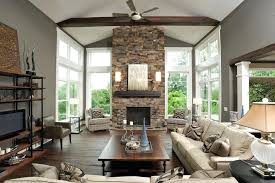 wooden mantle for fireplace stacked stone fireplace with wood mantle living room contemporary with exposed beams