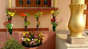 Window Decoration Window Decoration By Flower Plants Youtube