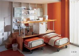 functional furniture design. contemporary furniture for two children bedroom functional design